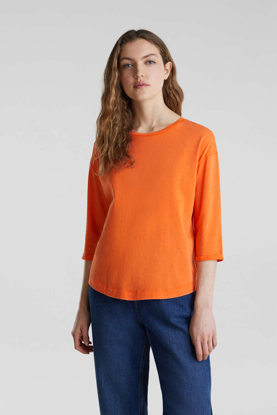 T-Shirts, ORANGE 4, detail image number 0