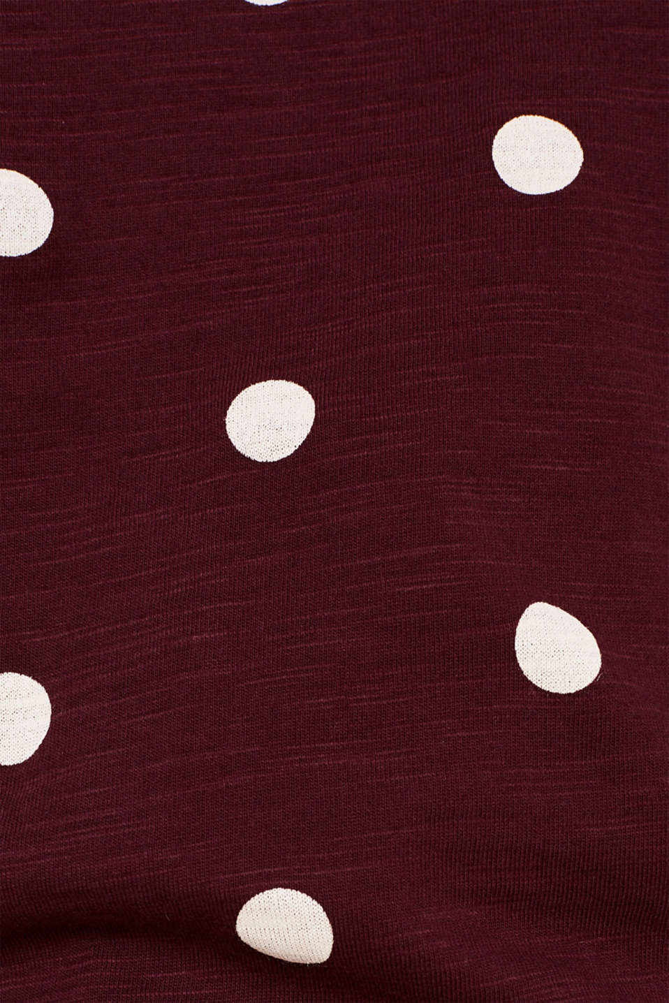 T-Shirts, BORDEAUX RED, detail image number 4