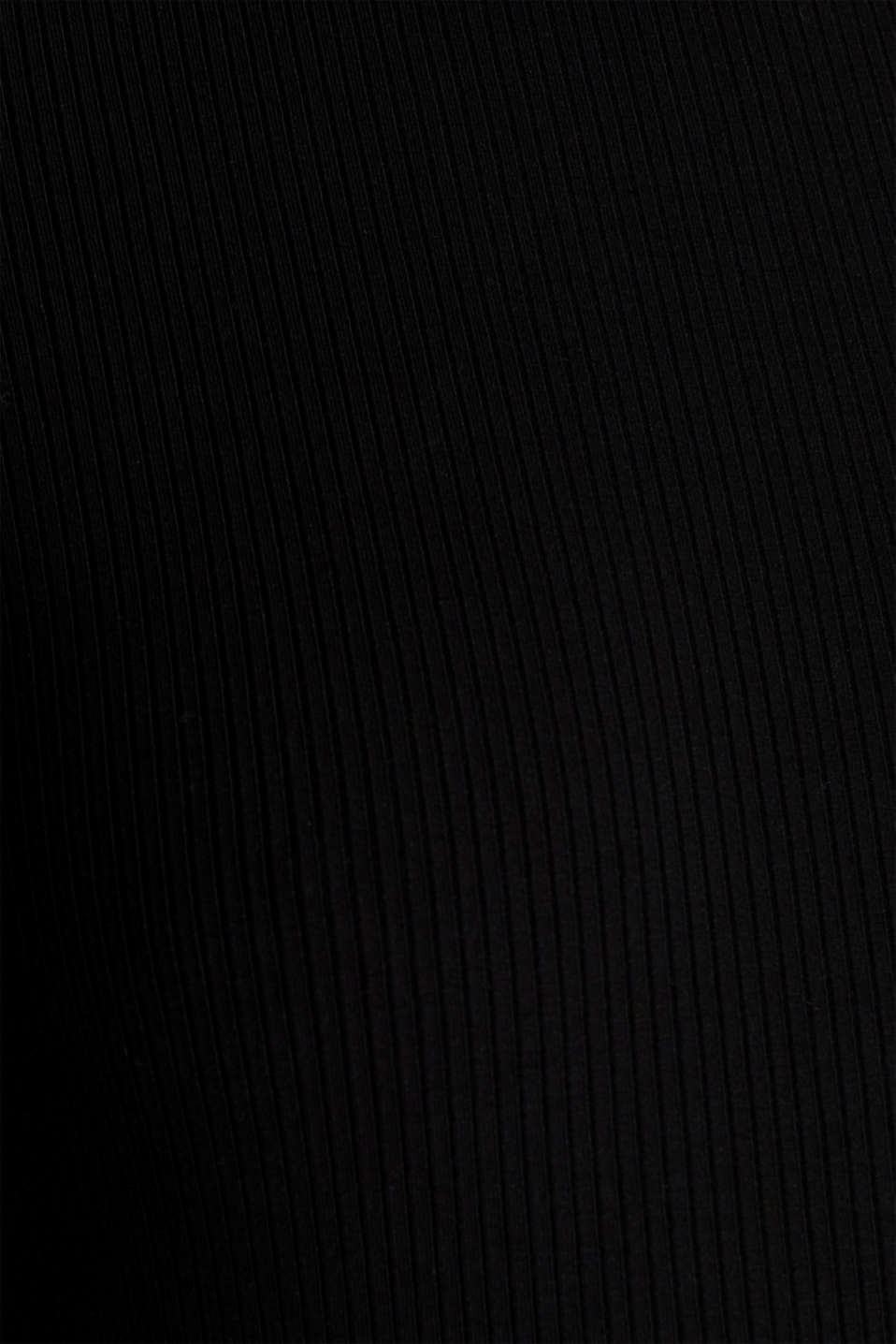 T-Shirts, BLACK, detail image number 4
