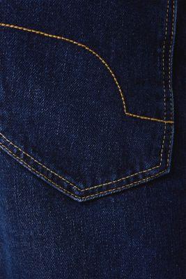 Jeans in 100% cotton, BLUE DARK WASH, detail