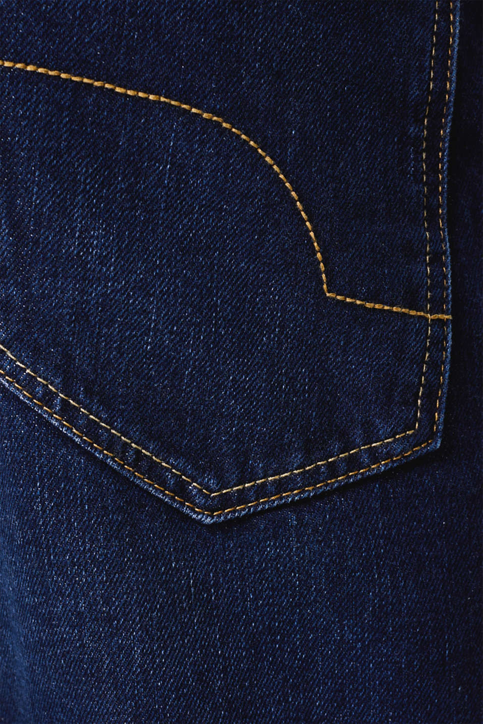 Jeans in 100% cotton, BLUE DARK WASH, detail image number 4