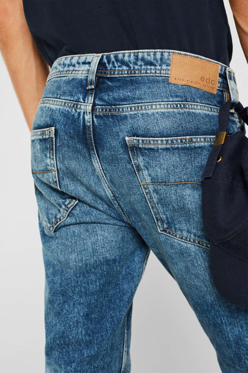 Jeans in 100% cotton, BLUE LIGHT WASH, detail image number 3