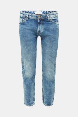 Jeans in 100% cotton, BLUE LIGHT WASH, detail