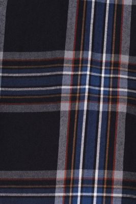 Flannel shirt with checks, 100% cotton, BLACK 3, detail