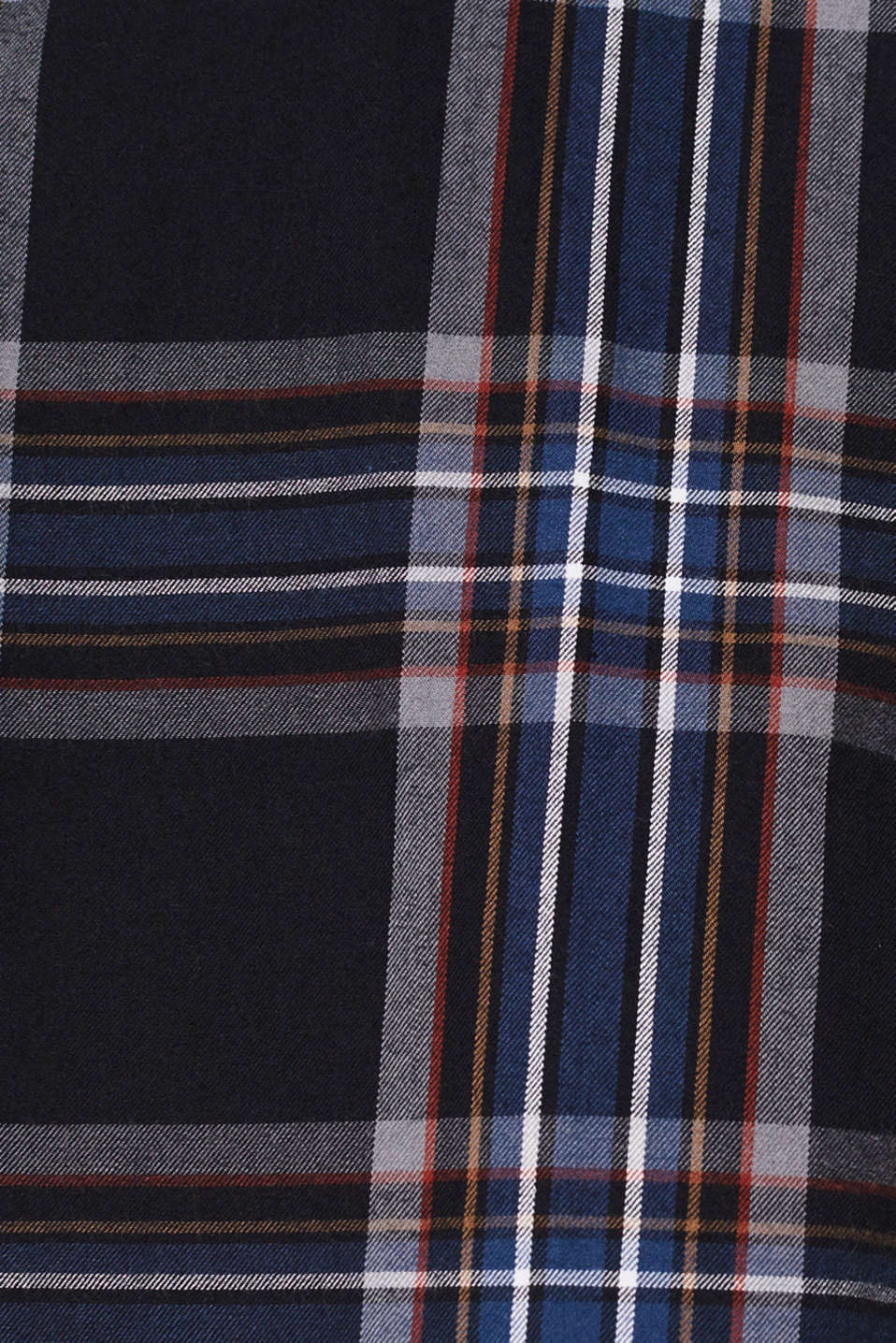 Flannel shirt with checks, 100% cotton, BLACK 3, detail image number 3