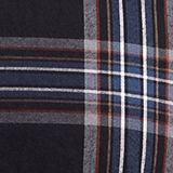 Flannel shirt with checks, 100% cotton, BLACK 3, swatch
