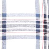Flannel shirt with checks, 100% cotton, WHITE 3, swatch
