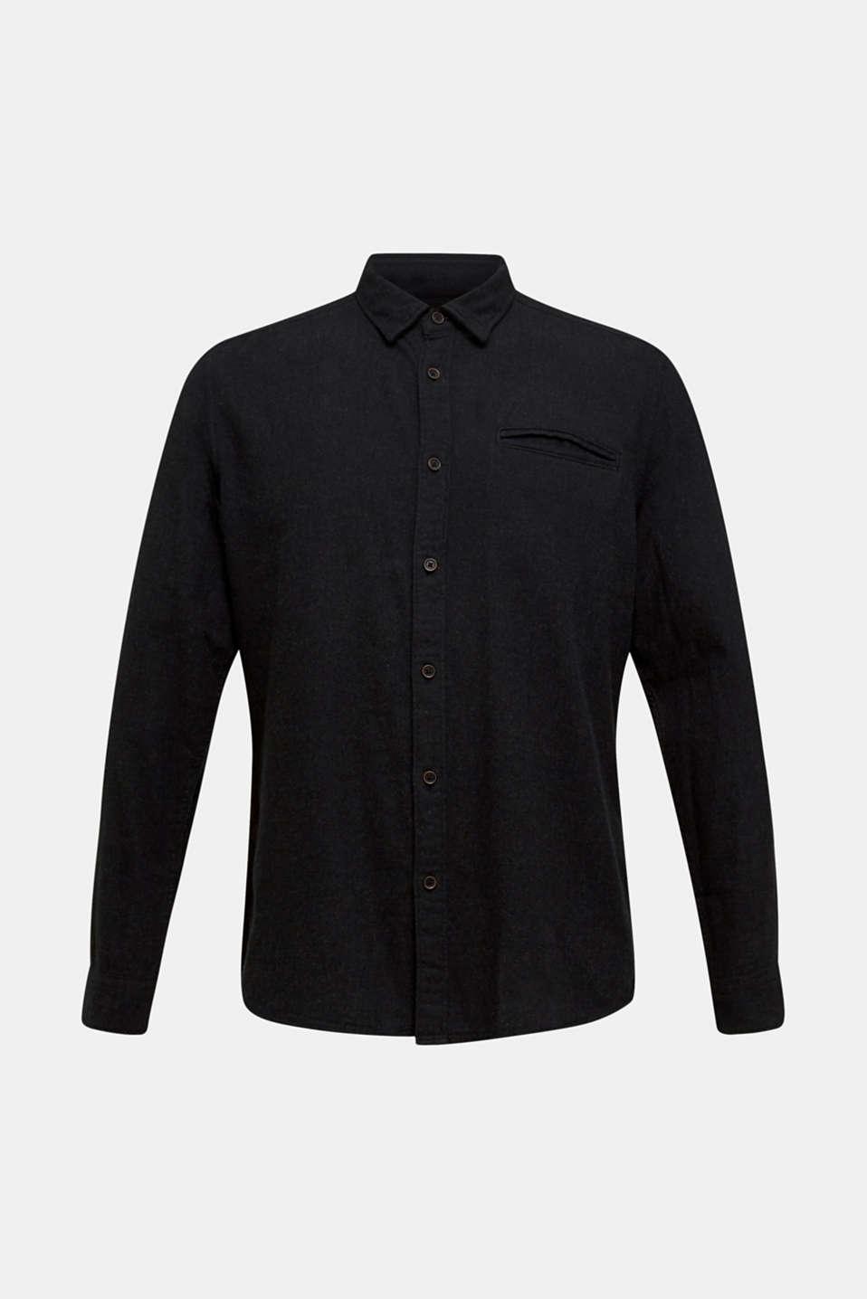 Shirts woven Slim fit, DARK GREY 5, detail image number 6