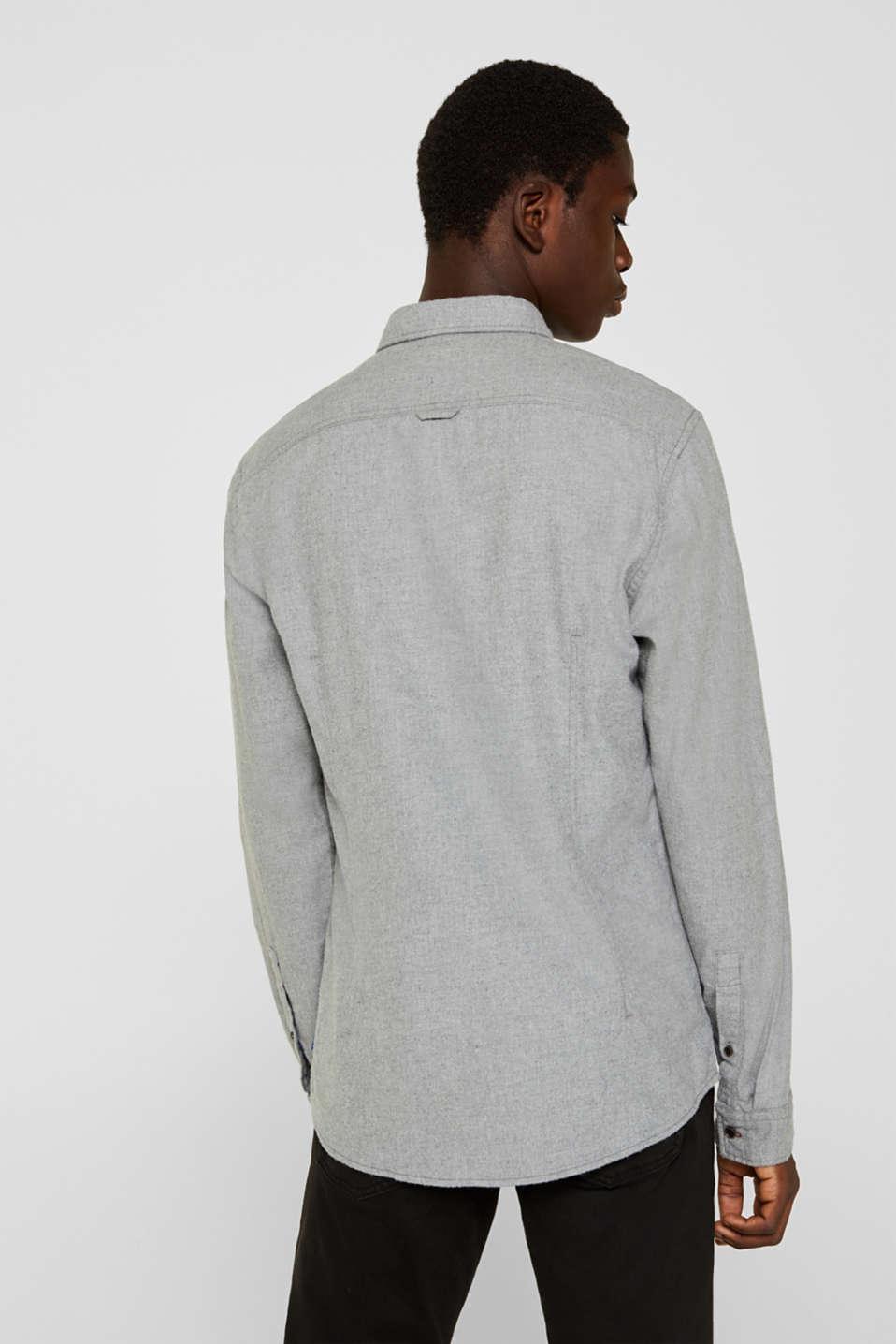 Shirts woven Slim fit, MEDIUM GREY 5, detail image number 3