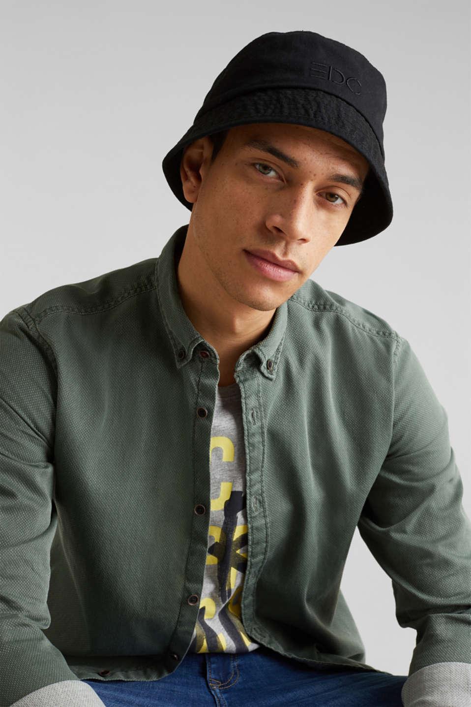 Shirts woven Slim fit, KHAKI GREEN 5, detail image number 6