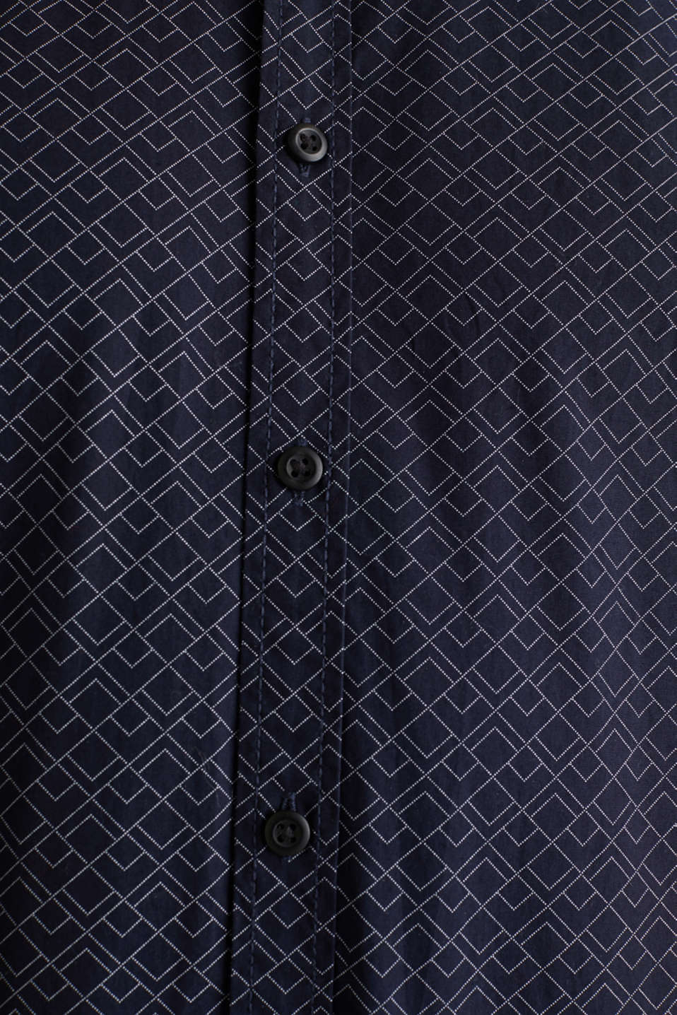 Shirt with an all-over print, 100% cotton , NAVY, detail image number 4