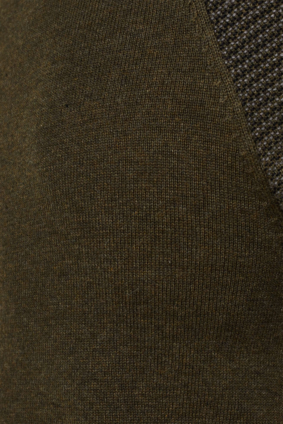 100% cotton jumper, KHAKI GREEN 5, detail image number 4