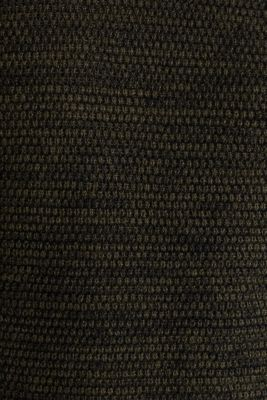Textured jumper made of 100% cotton, KHAKI GREEN 5, detail