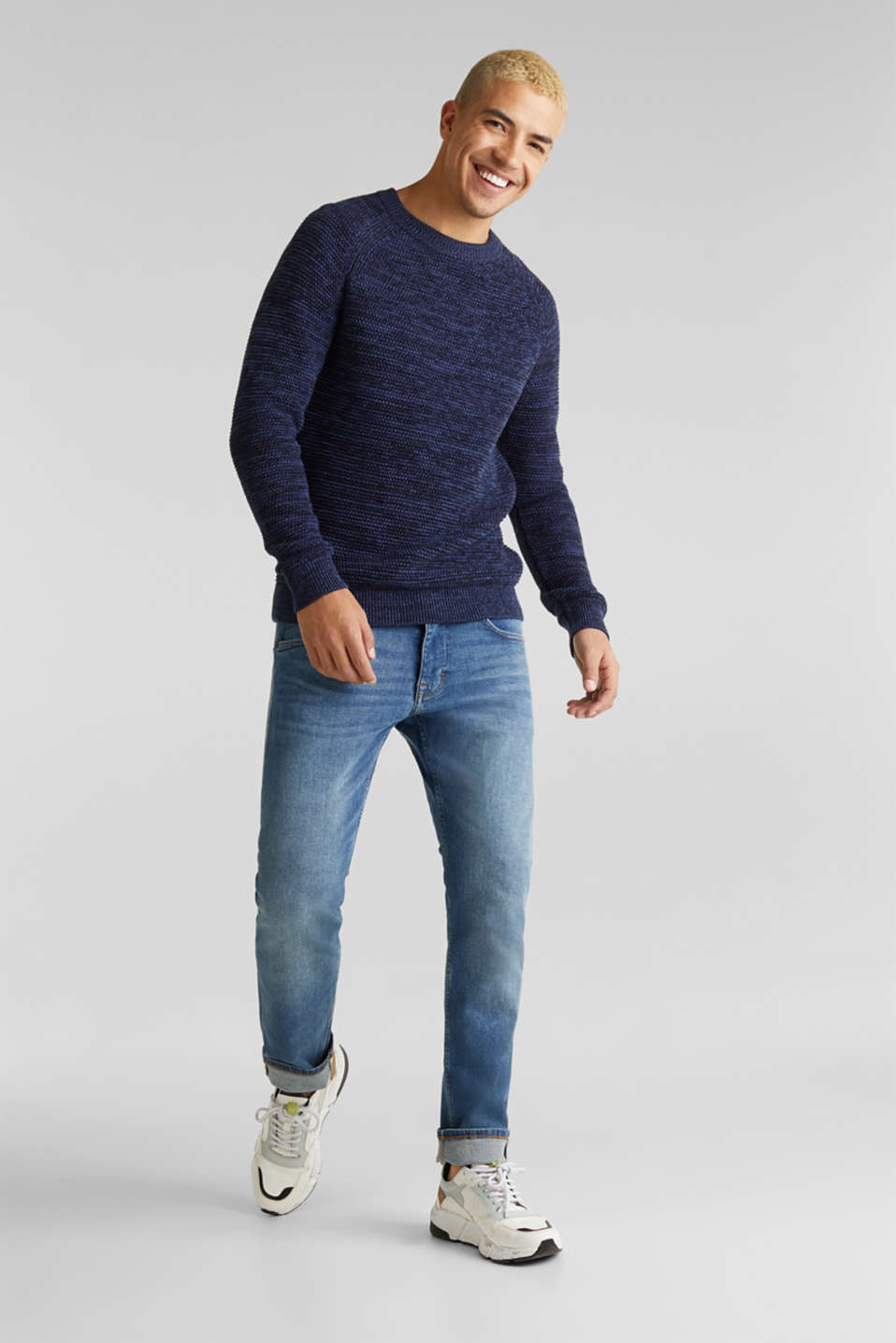 Sweaters, NAVY 5, detail image number 8