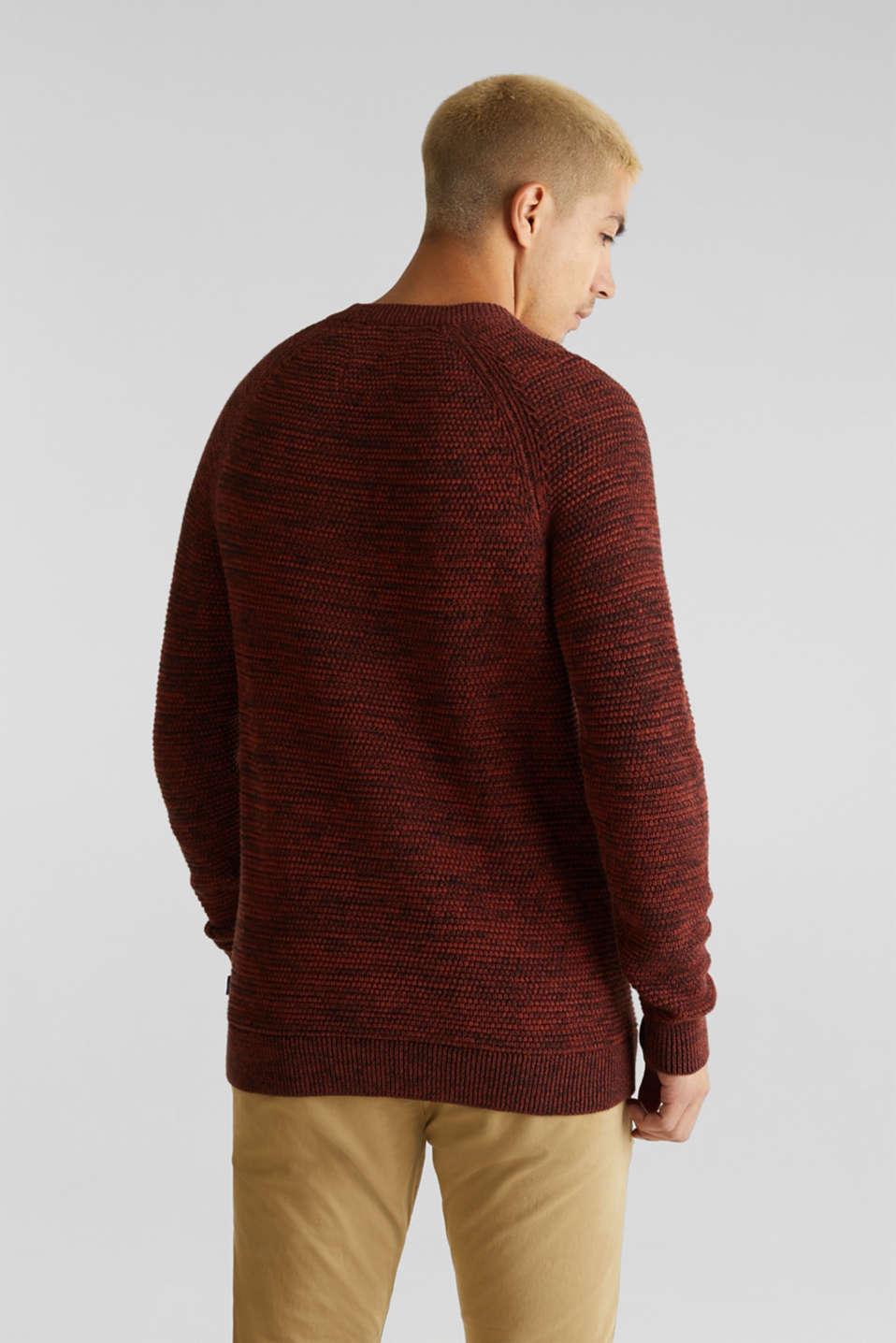 Sweaters, RUST ORANGE 5, detail image number 3