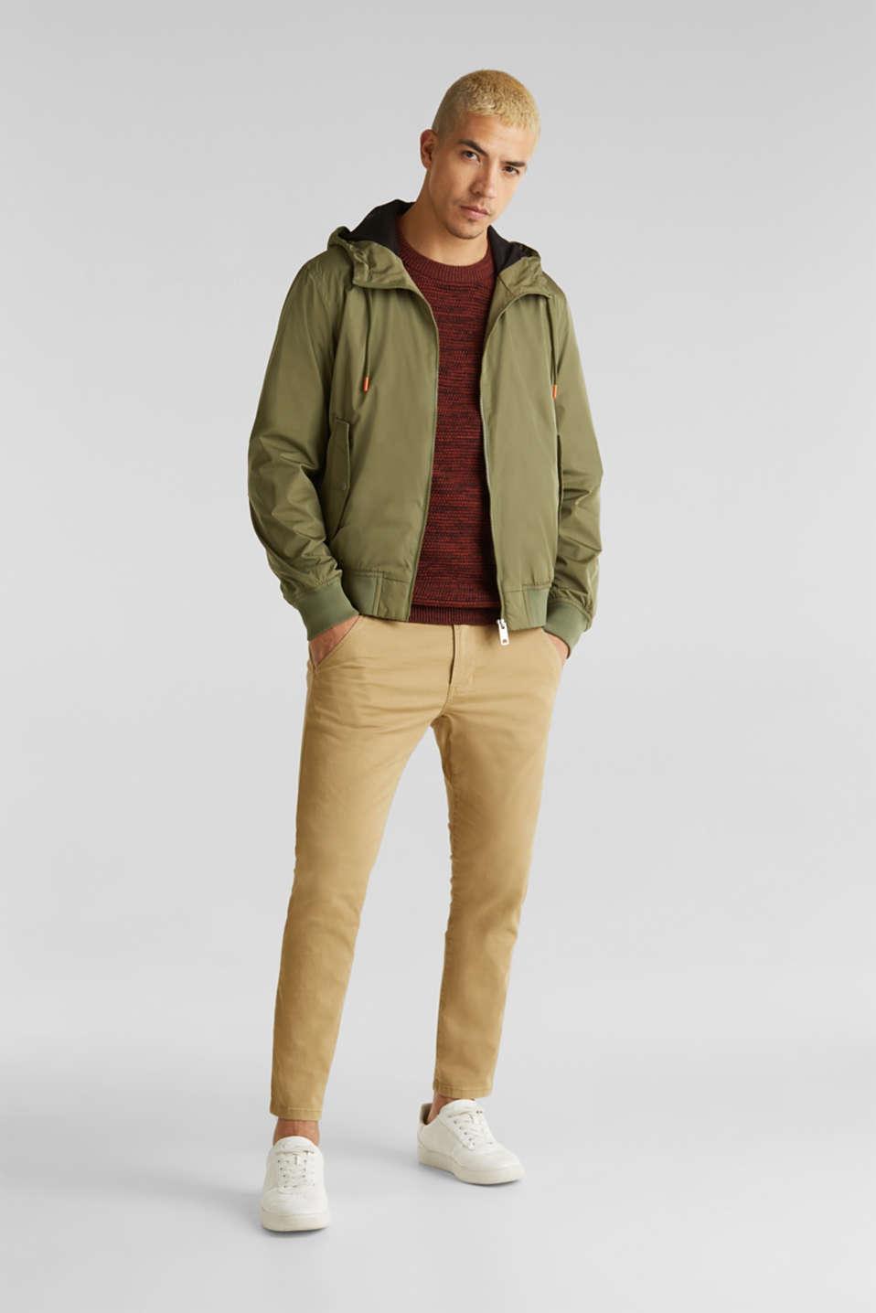 Sweaters, RUST ORANGE 5, detail image number 1