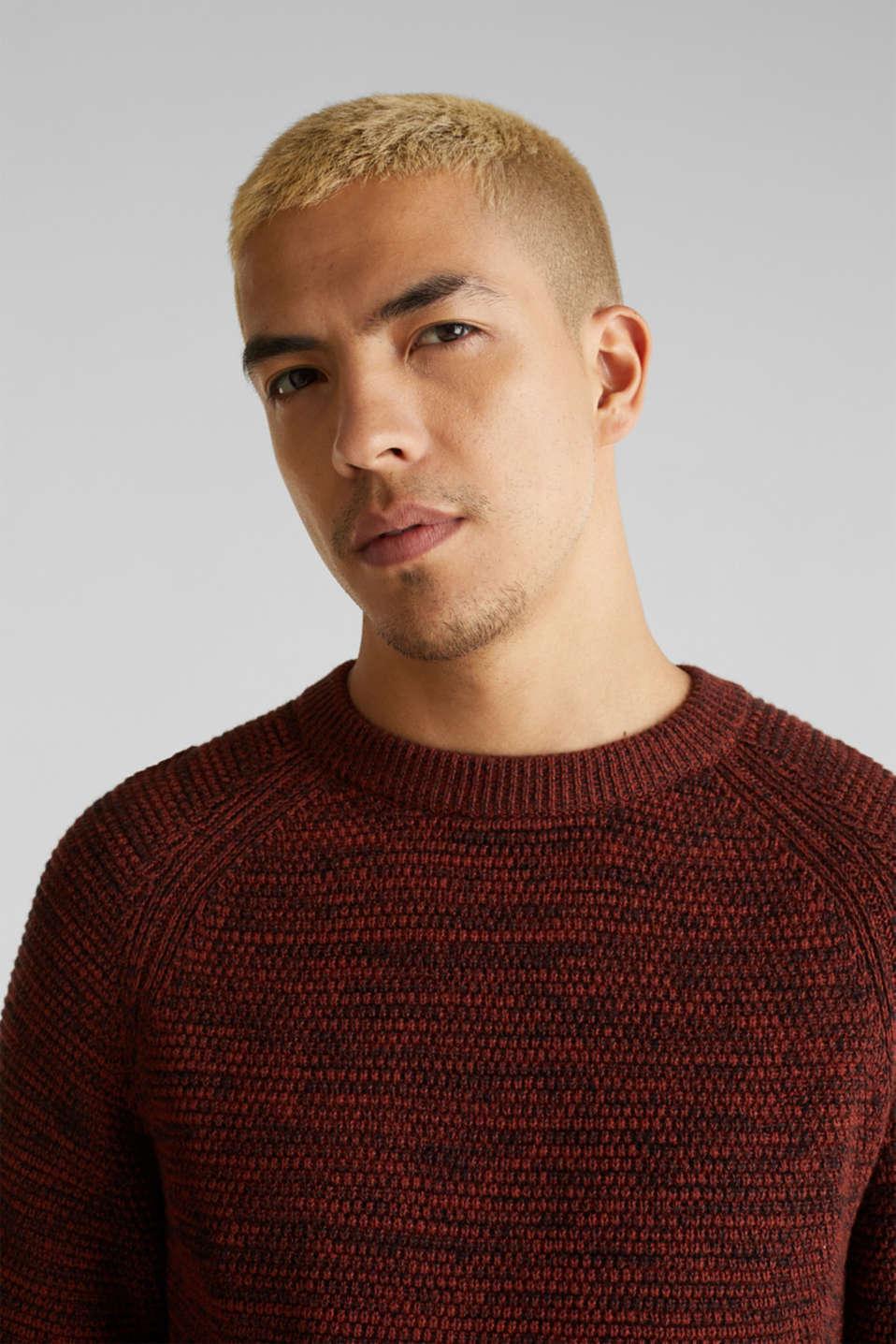 Sweaters, RUST ORANGE 5, detail image number 5