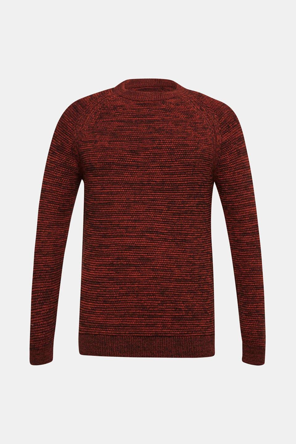 Sweaters, RUST ORANGE 5, detail image number 7
