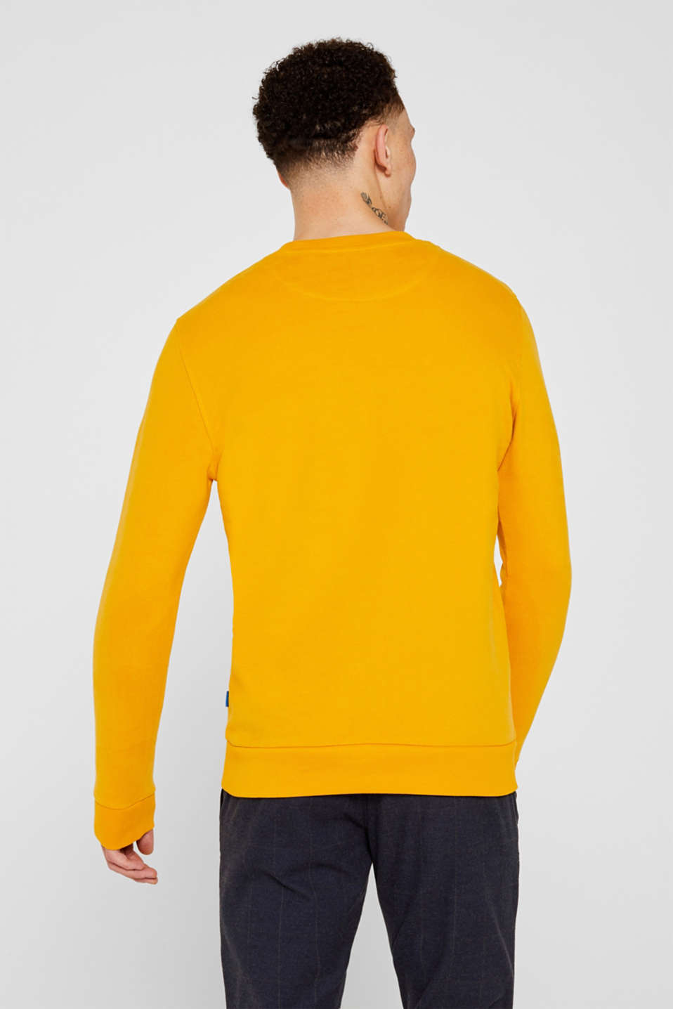Sweatshirts, BRASS YELLOW, detail image number 3