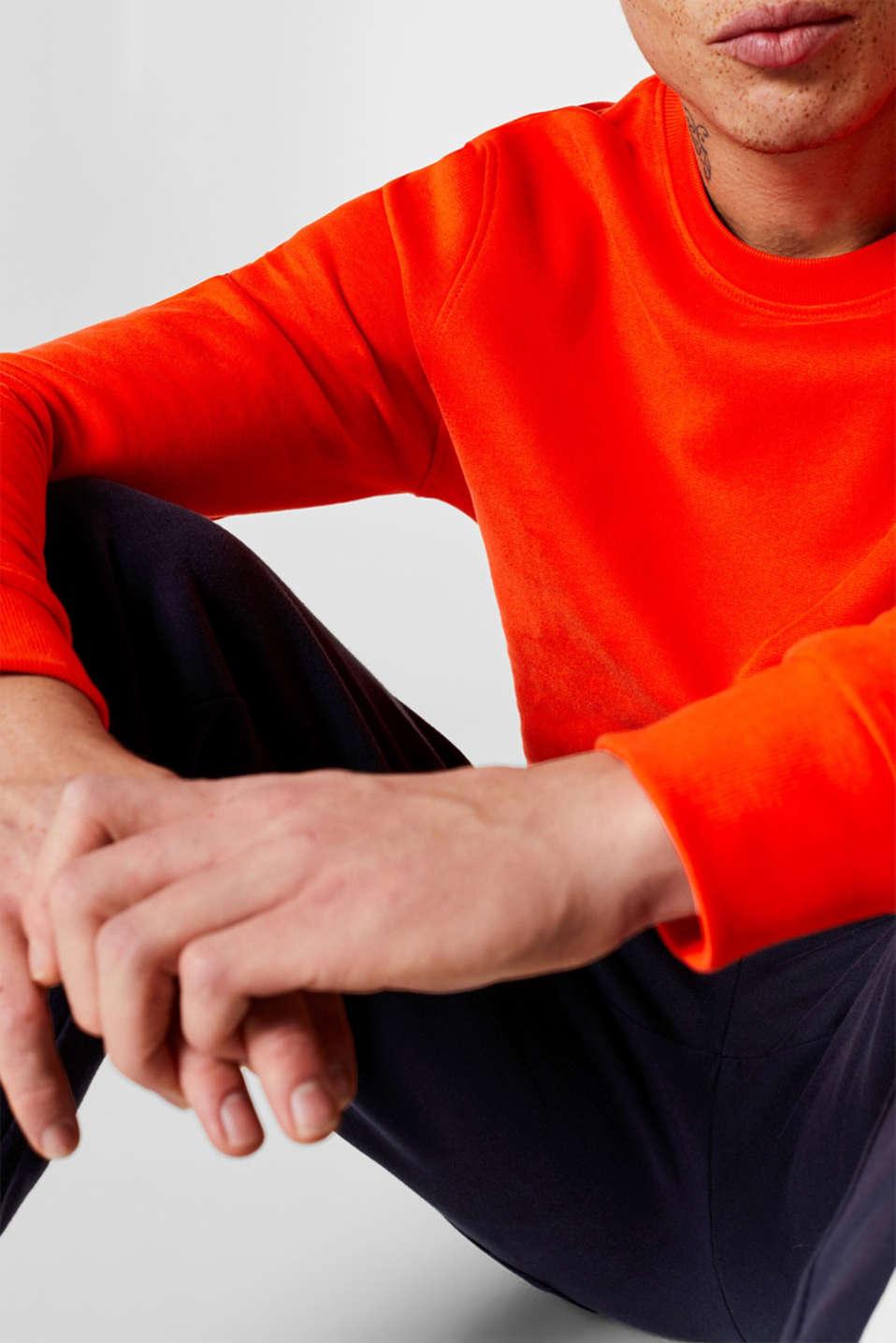 Sweatshirts, ORANGE, detail image number 2