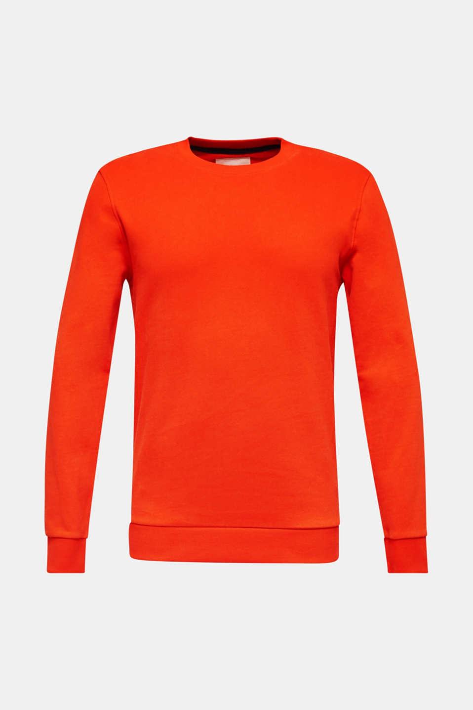 Sweatshirts, ORANGE, detail image number 6