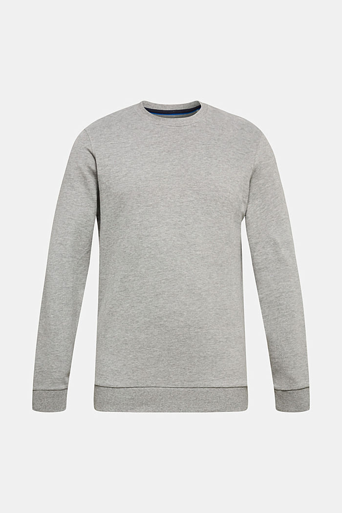 Sweatshirt van katoen, MEDIUM GREY 5, detail image number 0