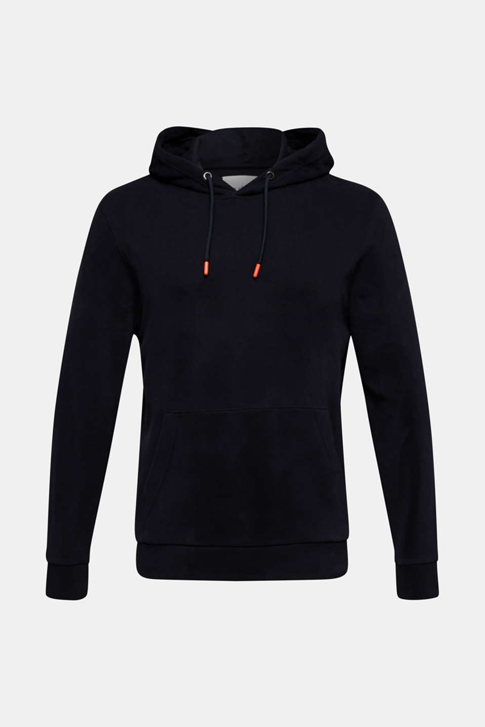 Hoodie in 100% cotton, BLACK, detail image number 8