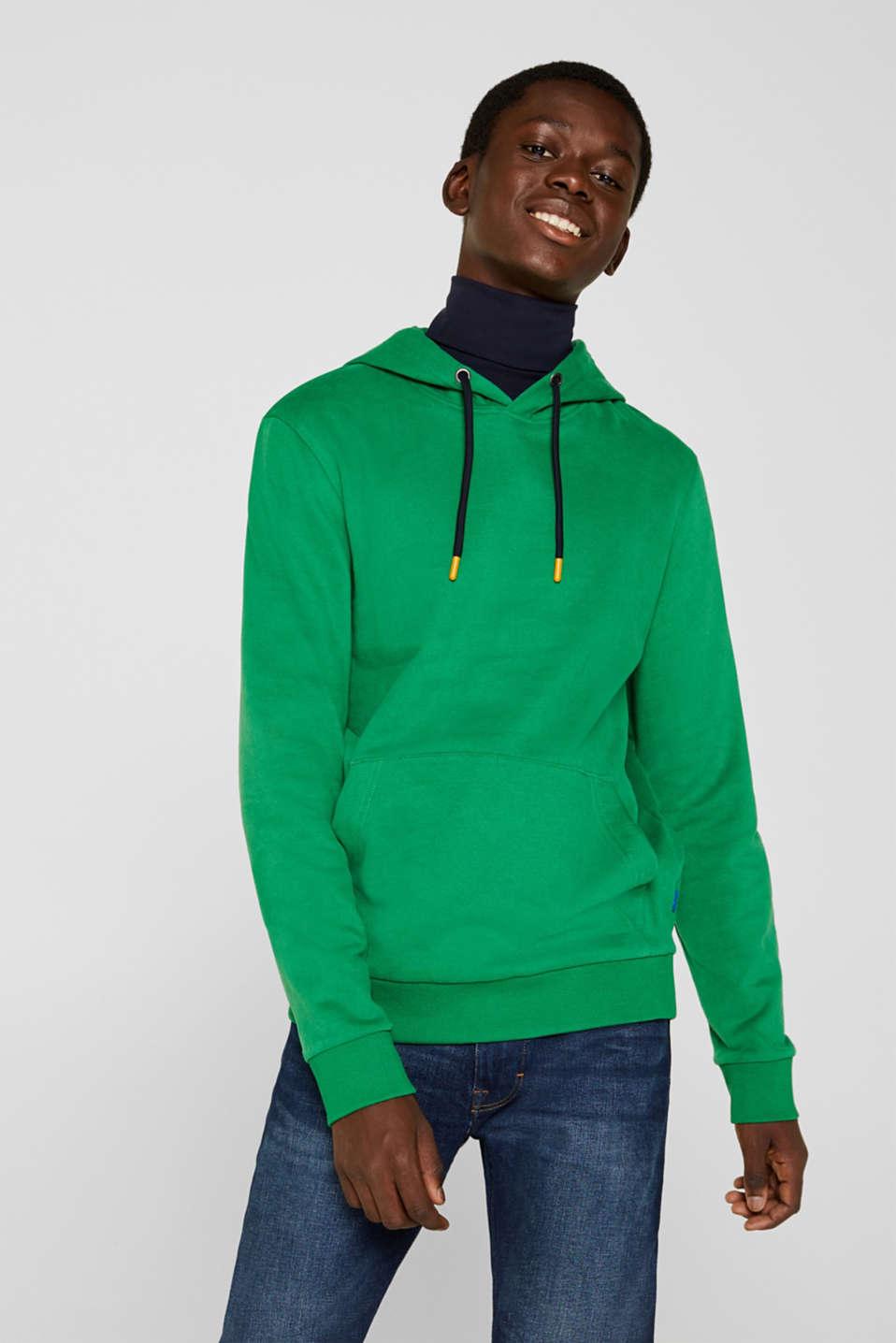 Sweatshirts, GREEN, detail image number 0