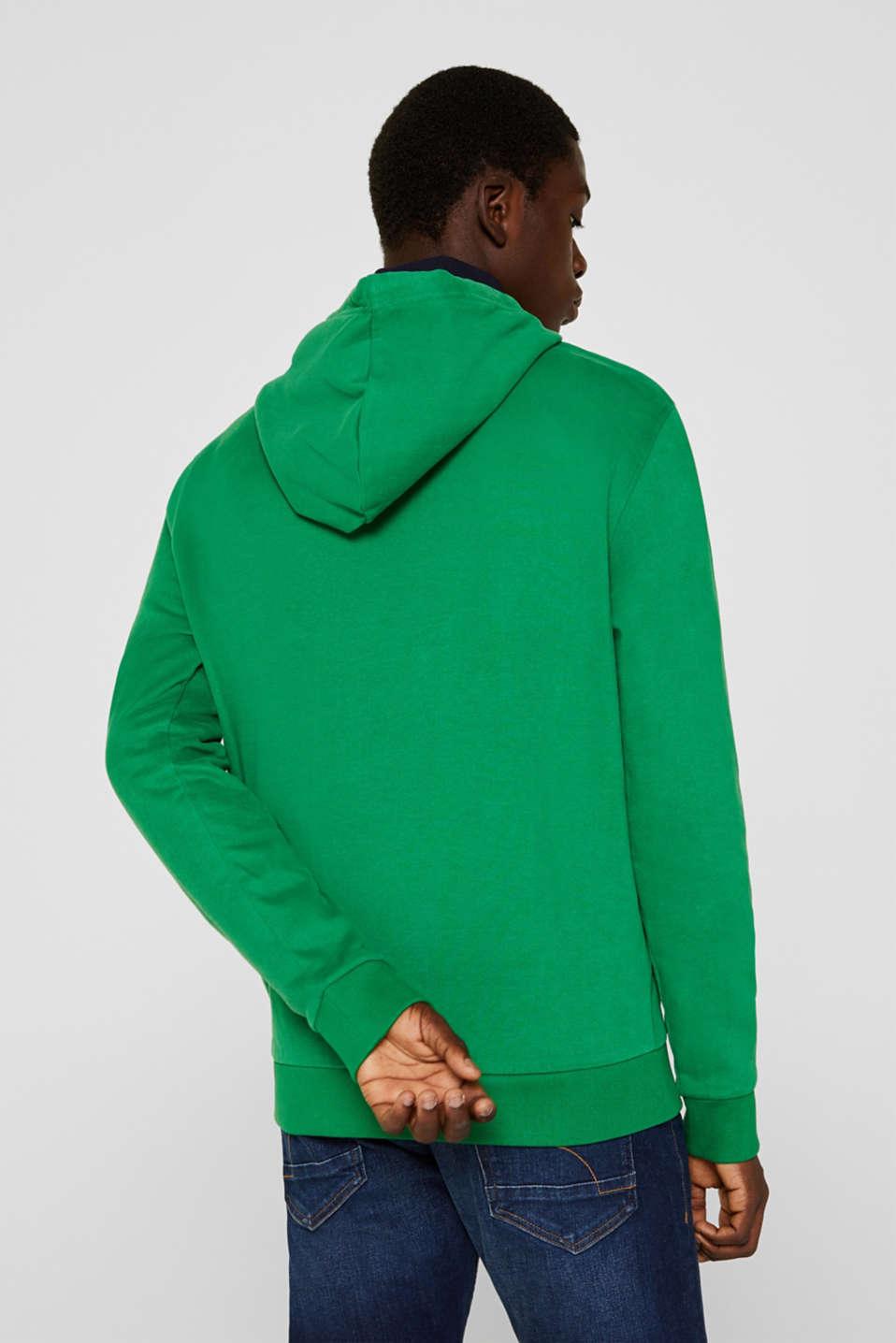 Sweatshirts, GREEN, detail image number 3