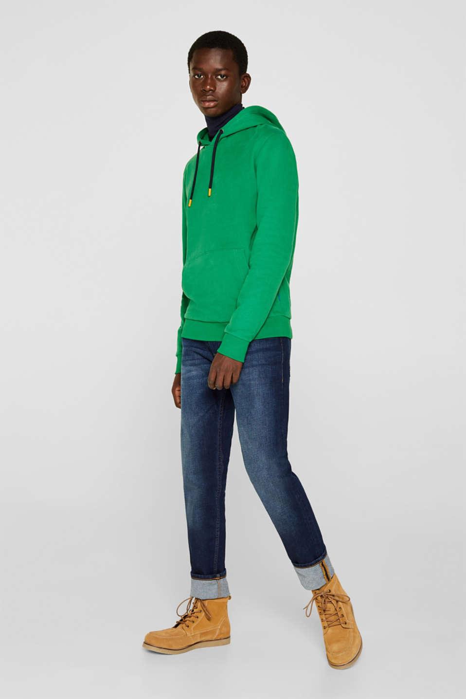 Sweatshirts, GREEN, detail image number 4