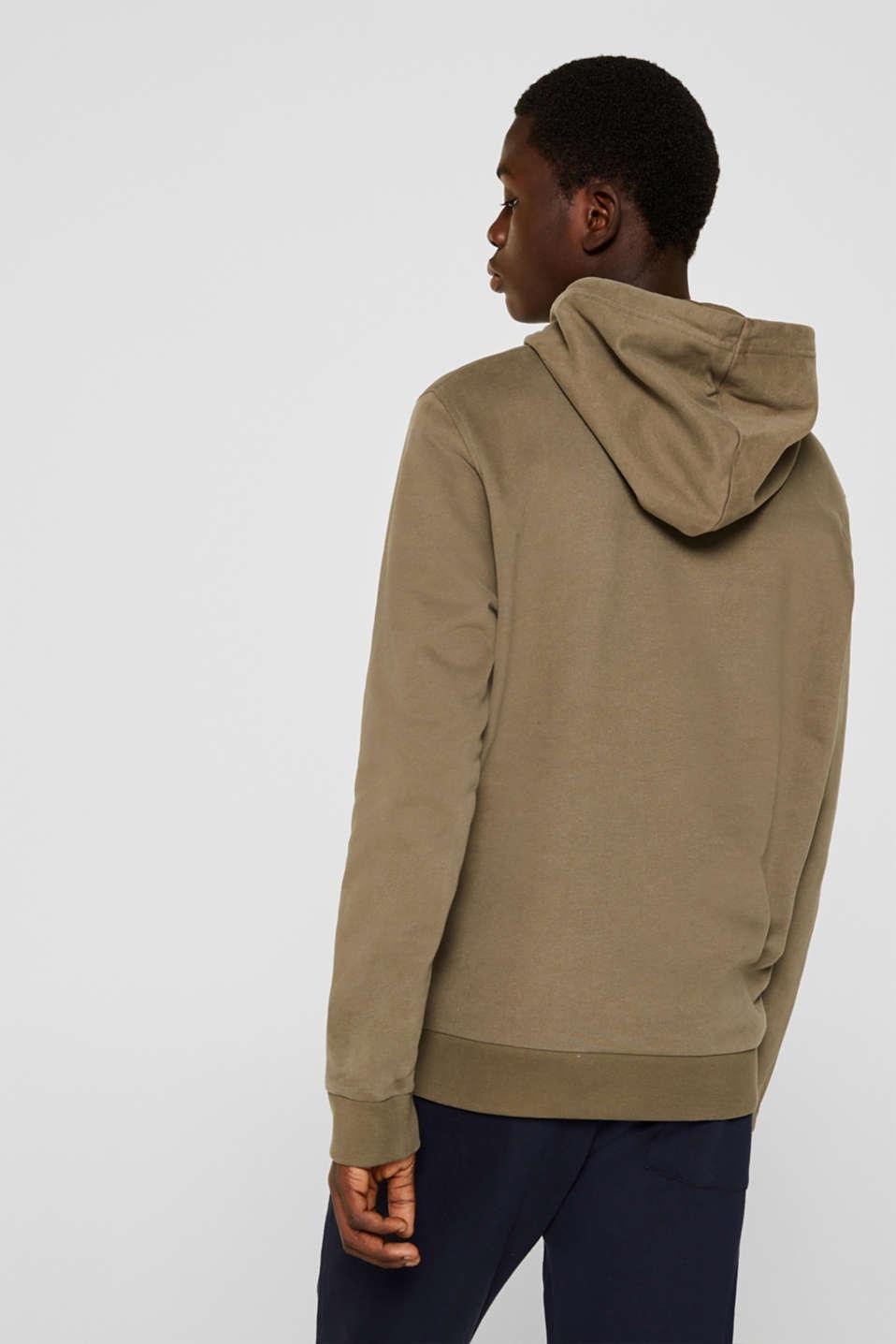 Sweatshirts, KHAKI GREEN, detail image number 3