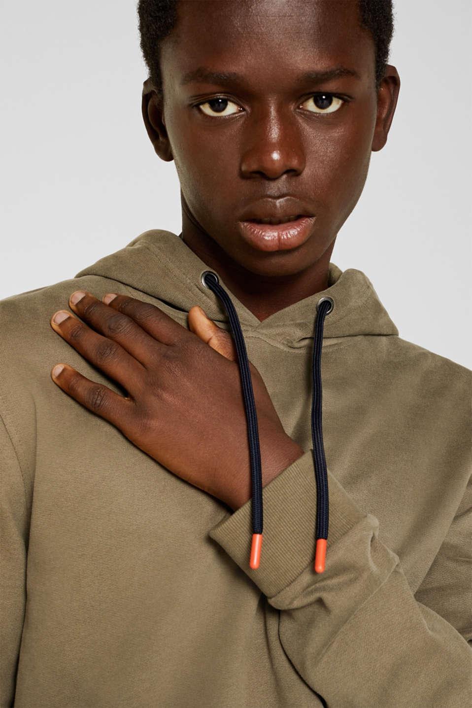 Sweatshirts, KHAKI GREEN, detail image number 2