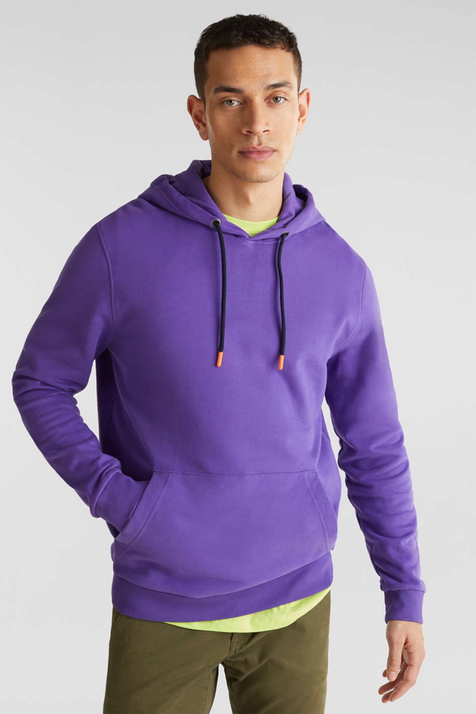 edc - Hoodie in 100% cotton