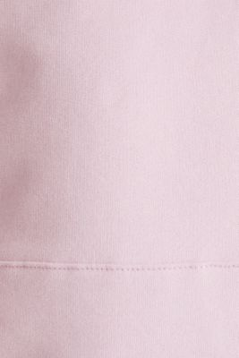 Hoodie in 100% cotton, LIGHT PINK, detail