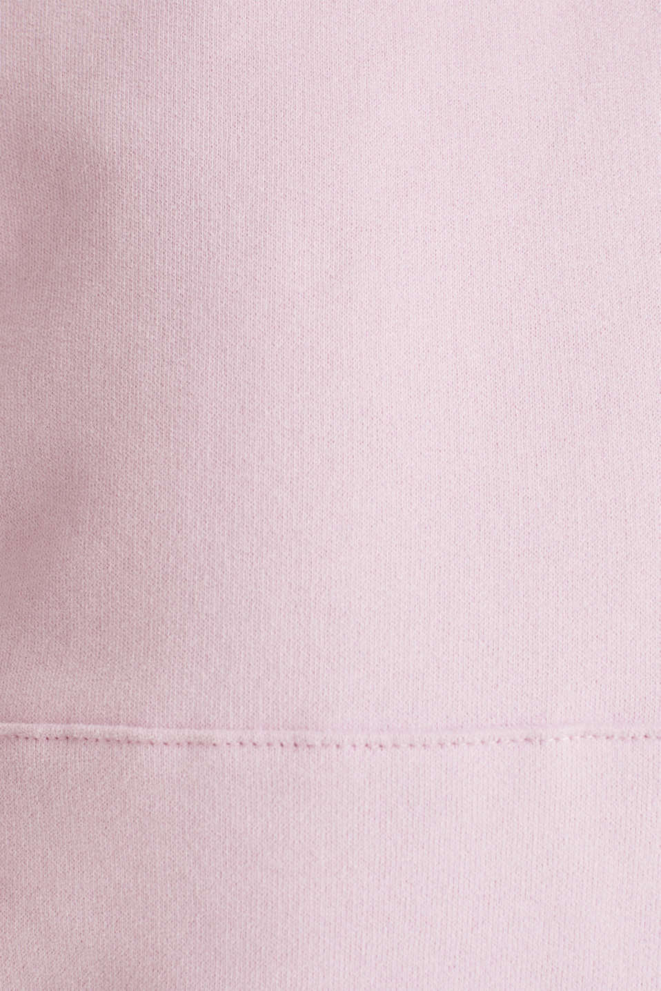 Hoodie in 100% cotton, LIGHT PINK, detail image number 3