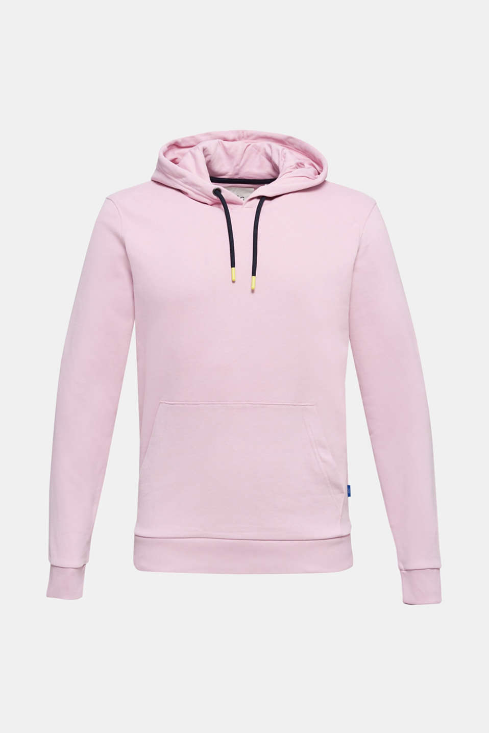 Hoodie in 100% cotton, LIGHT PINK, detail image number 5