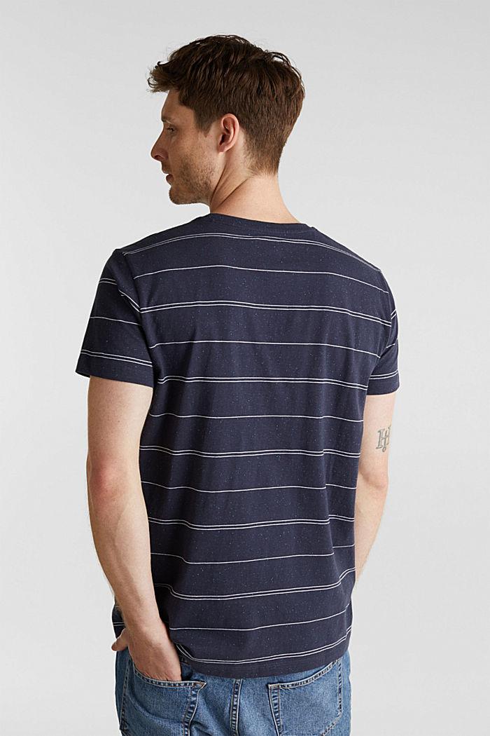Jersey shirt met tekstprint, NAVY, detail image number 3