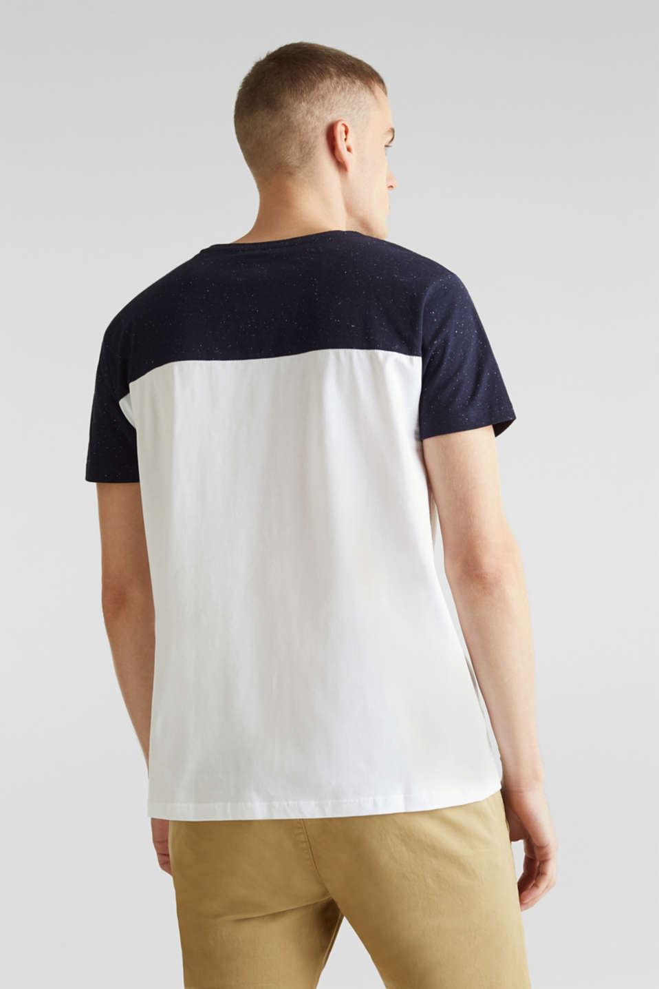 Jersey T-shirt in 100% cotton, WHITE 2, detail image number 2