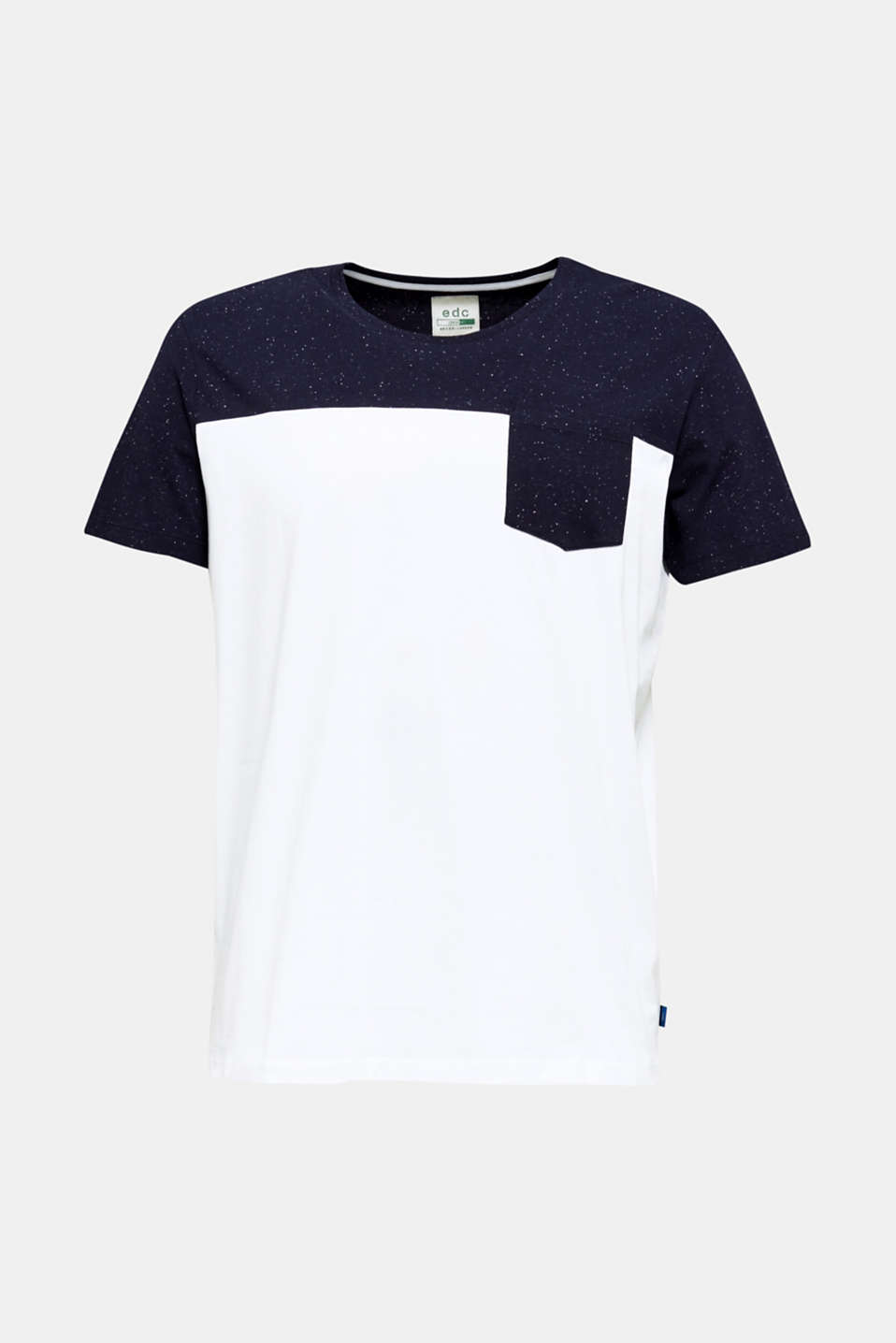 Jersey T-shirt in 100% cotton, WHITE 2, detail image number 5
