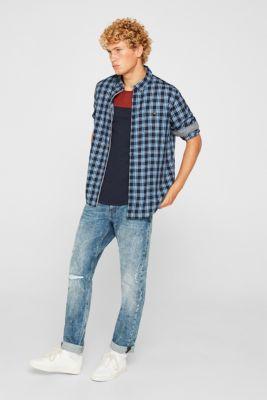 Jersey T-shirt in 100% cotton, NAVY 2, detail