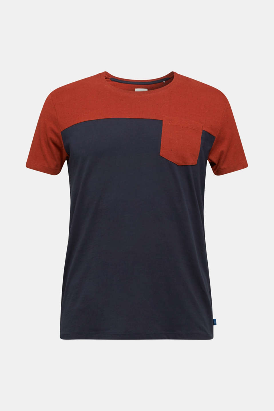 Jersey T-shirt in 100% cotton, NAVY 2, detail image number 5