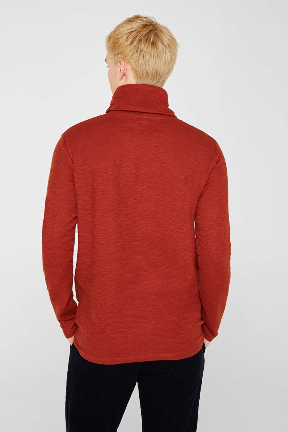 T-Shirts, RUST ORANGE, detail image number 3