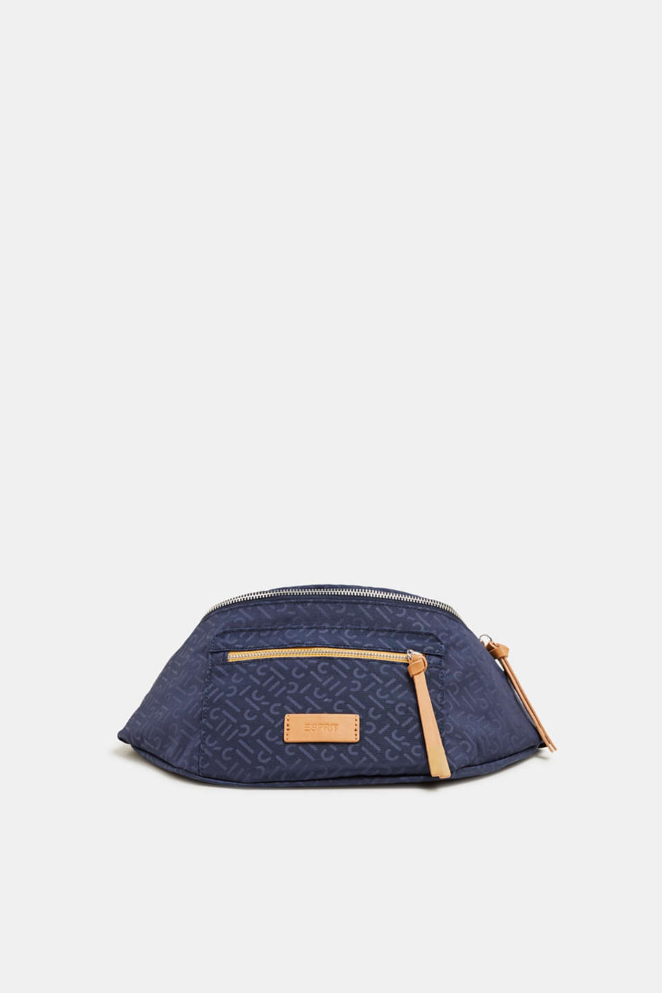 Esprit - Belt bag met monogramprint