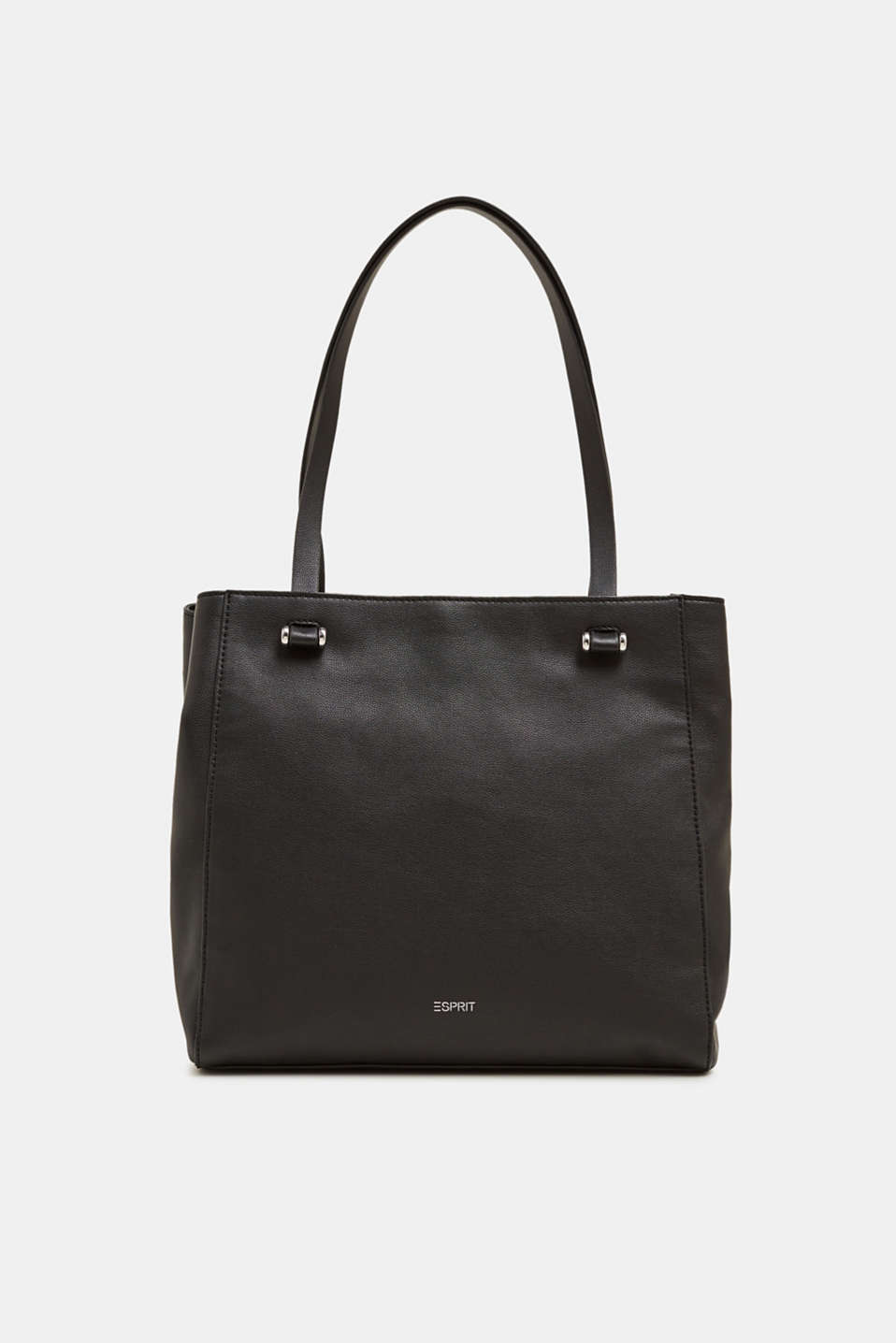 Esprit - Faux leather shopper