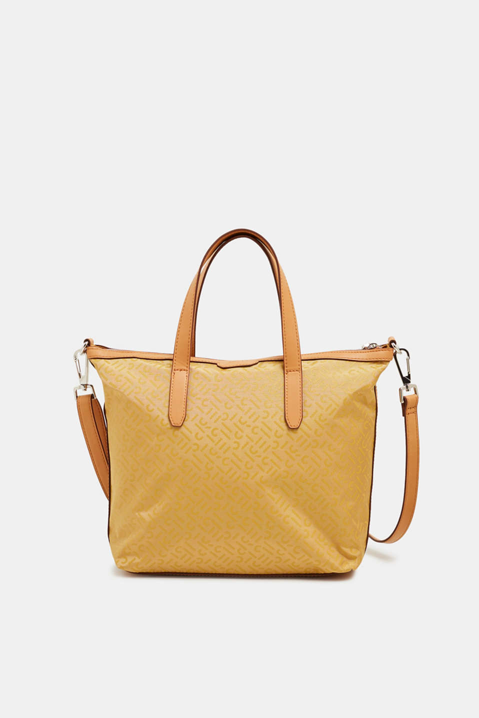 Esprit - Monogram shoulder bag made of nylon