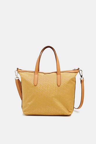 Monogram shoulder bag made of nylon