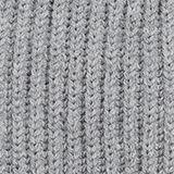 With wool: Rib knit beanie, MEDIUM GREY, swatch