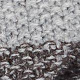Textured knit snood, DARK GREY, swatch