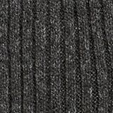 Scarf with a wide ribbed texture, DARK GREY, swatch