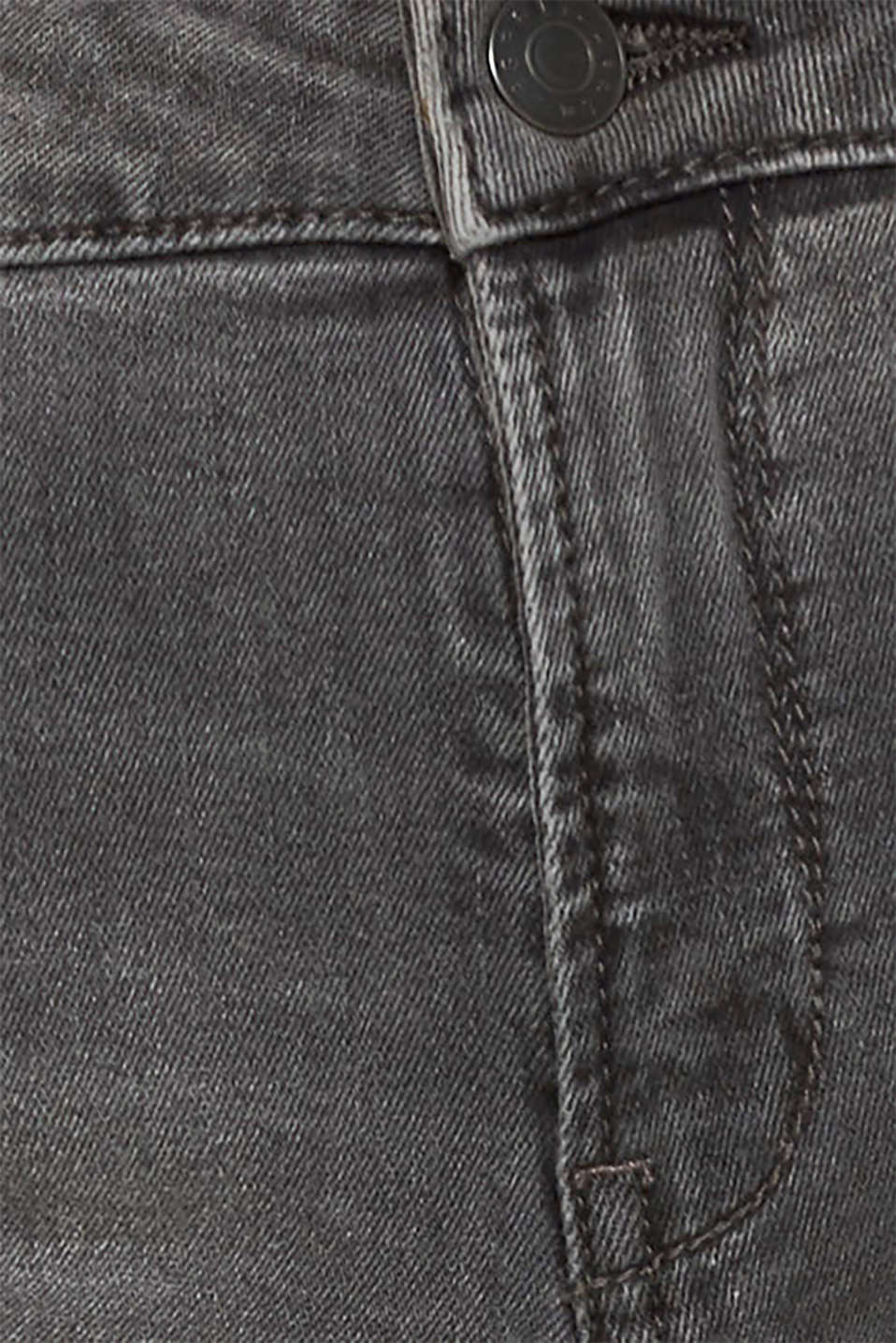 Pants denim, GREY DARK WASH, detail image number 4
